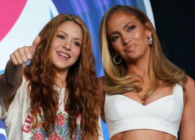Shakira y JLo prometen 'lo nunca visto' para el Super Bowl, con Kobe y los latinos como 'bandera'