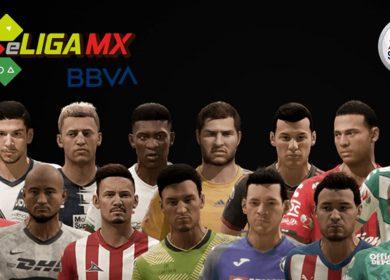 Partidos y resultados de la eLiga MX, Clausura 2020: Jornada 1