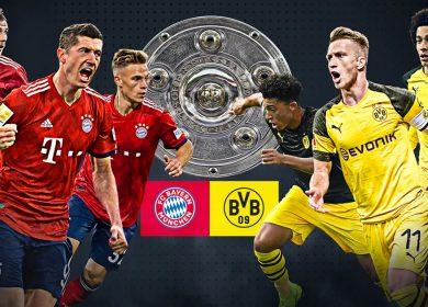Borussia Dortmund vs Bayern Munich, el primer gran platillo en el regreso del futbol